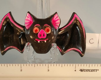 Black Bat Hair Clip