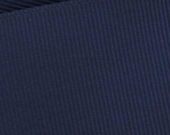Navy Blue Grosgrain Ribbon     (05-##-S-004)