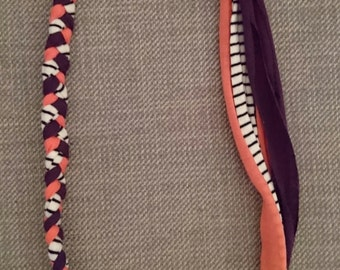 Tshirt yarn necklace
