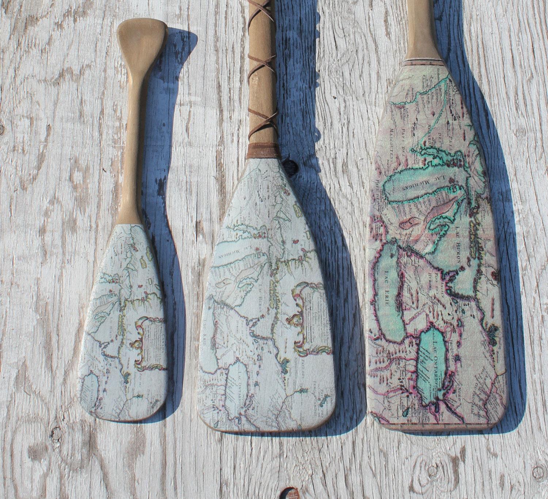 Vintage Nautical Decor Sale: Beach Decor 48 Wooden Oar Coastal Decor Nautical