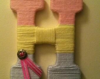 Custom Yarn Letter