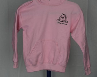 YOUTH girl's pink pullover sweatshirt hoodie Small, Medium, Large