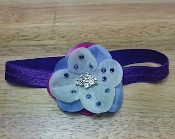 Newborn crystal headband