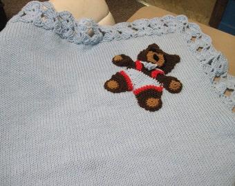 Bear Baby Blanket