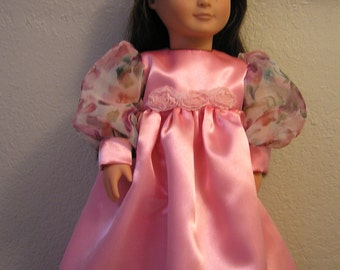 "OOAK--Renaissance Princess Gown, Hat and Shoes for 18"" Dolls such as American Girl or Our Generation"