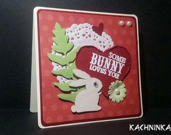 Faithful Bunny card
