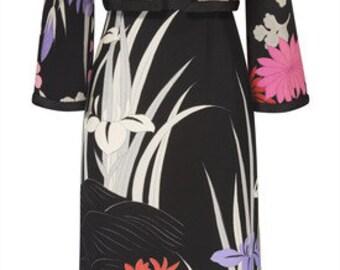 Incredible vintage dress by Designer Hanae Mori