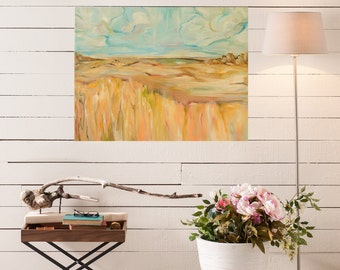 "Landscape Series ""Pathway"" - Fine Art Giclee Print of Abstract Painting"