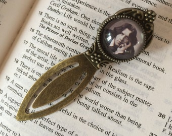 Oscar Wilde Bookmark - Antique Style, Gift For Reader, Book Lover, Bibliophile, Author Bookmark, Library Accessory, Vintage Style