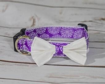 Purple Petals (customizable length!)