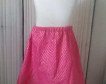 S Pink and gold children's skirt