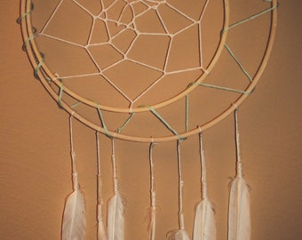 Simple Feather Dream Catcher