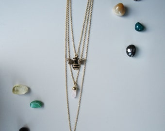 Queen Bee Layered Necklace