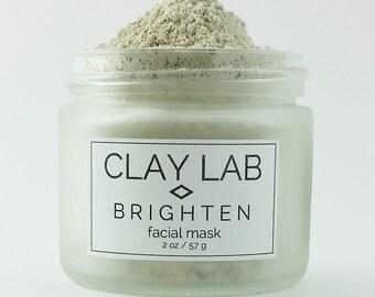 BRIGHTEN Refining Clay Facial Mask
