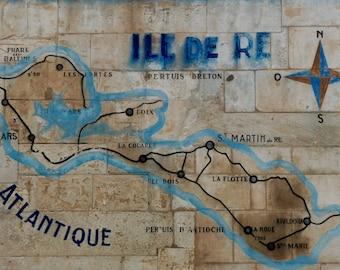 Map of Ile de Ré / Saint-Martin-de-Ré