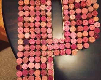 "Wine Cork Letter 18"" A-Z"