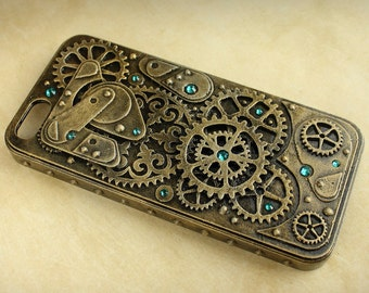 Steampunk case for Iphone 5 and 5S
