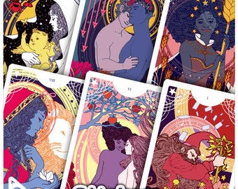 Tarot, Major Arcana Stickers