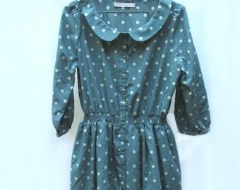 Vintage-Inspired Polka Dot Dress