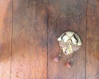 Cockroach old sea necklace