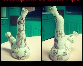 Steampunk Ceramic Pipe