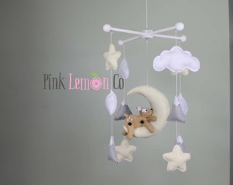baby mobile-deer baby mobile-woodland baby mobile-mountains baby mobile
