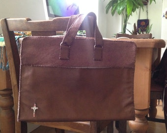 Handcrafted Leather Satchel - custom made to order