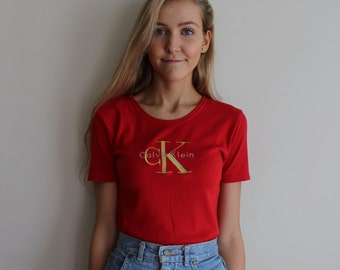 Vintage Calvin Klein T-Shirt Small