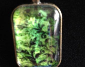 Contemporary Handmade Pendant Necklace, FREE shipping