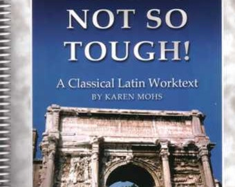 Latin 5 - Workbook, Homeschool Curriculum, classical language, school, elementary classroom, activity pages, teens, adults