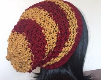 Gryffindor Knit Slouchy Beanie
