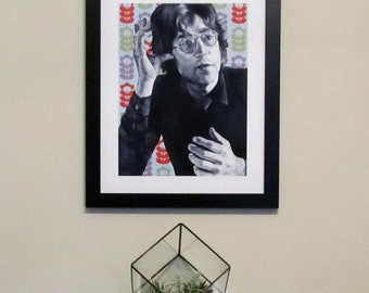 John Lennon Art, The Beatles Art, Vintage Poster, Poster Art, Wall Art, The Beatles, Rock and Roll, Fine Art, Painting, Musician Portrait