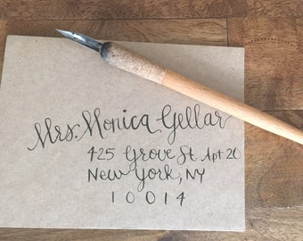 Modern Calligraphy - Envelope Addressing