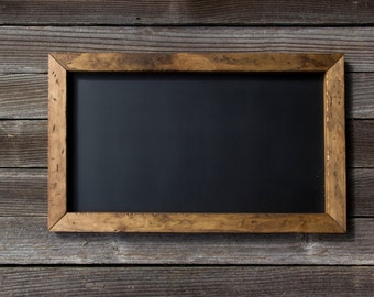 Rustic Chalkboard | Magnetic Chalkboard | Sign | Wedding Sign | Wedding Decor | Farmhouse Decor | Industrial Magnetic Chalkboard