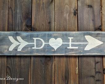 Custom Wood Signs  - Love