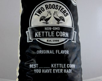 The Best ____ Kettle Corn, made with non-GMO ingredients
