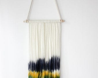Hand Dyed Tapestry Wall Hanging