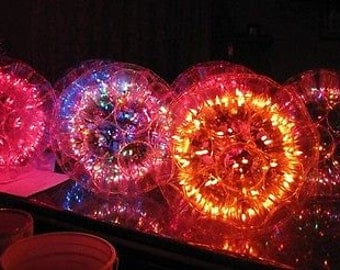 Sparkleball light great for weddings, parties, porch, patio, campers, & RV's