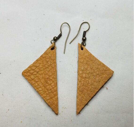 Fine Leather Earrings