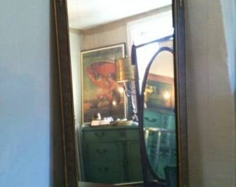 petite vintage mirror