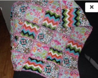 Baby/Toddler Rag Quilts Cutom Made