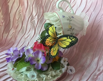 Butterfly and Floating cup Garden