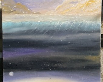 """Oil Painting """"Above Below"""" 24x18in"""