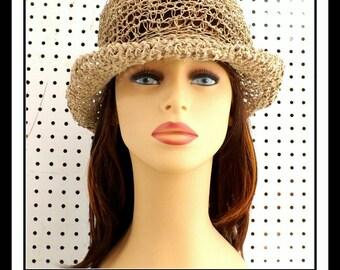 Crochet Patterns for Womens Hat, Crochet Pattern Hat, Crochet Sun Hat Pattern for Women, Moncherie Wide Brim Hat for Women, Floppy Hat