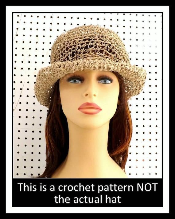 Crochet Patterns For Womens Hat Crochet Pattern Hat Crochet Sun