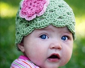 Baby Girl Hat, Newborn Crochet Hat, Toddler Hat, Newborn Girl Hat, Baby Newborn Beanie, Photo Prop, Newborn Hat, Crochet Baby Hat, Baby Girl