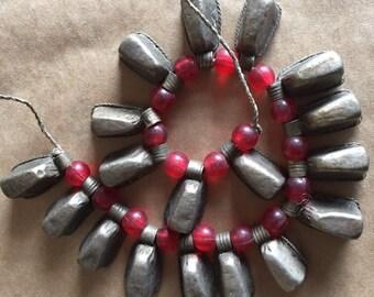 Vintage Afghani Beads (Item #5555 and #5556)
