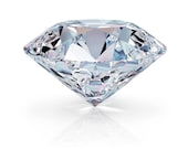 Private Listing for Cheryl - Forever One round moissanite - round cut loose stone, E-F color