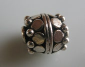 Sterling silver beads-925 silver beads- beading supplies-sterling silver beading supplies-jewelry-ONE BEAD