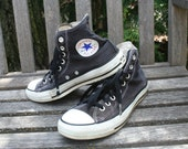 Black Chuck Taylor high top shoes Chucks All Star size 6.5 hi tops 8.5 39.5